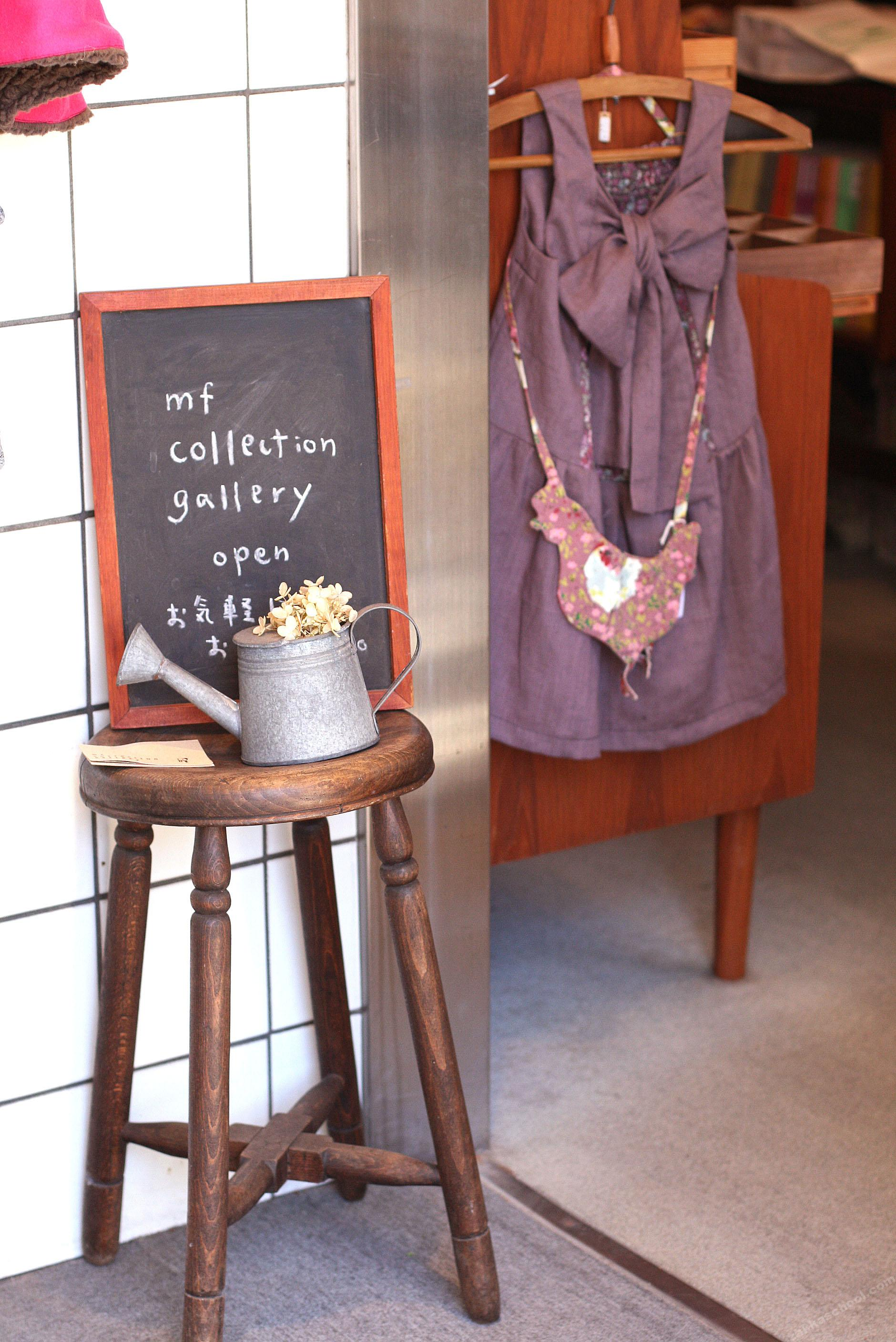 mfcollectiongallery店頭