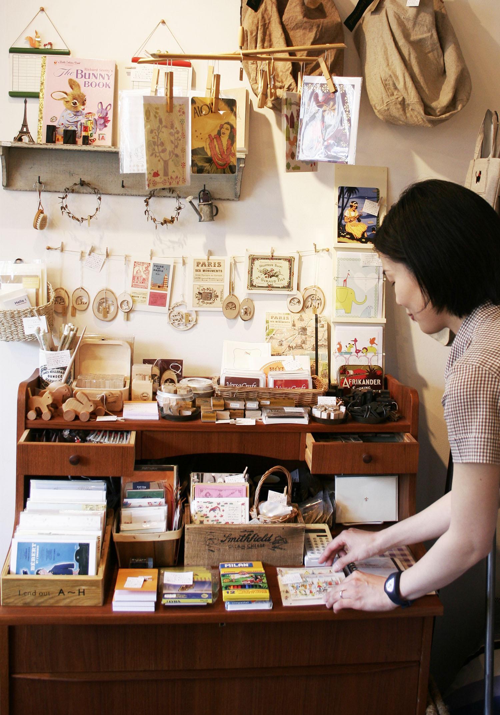 雑貨屋さんのディスブレイ、陳列、VMD